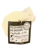RECHARGE DE BOUGIE BASILIC LAVANDE  MAS DU ROSEAU