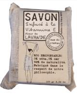 SAVON INFUSÉ À LA VITAMINE E PARFUM LAVANDE  MAS DU ROSEAU