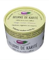 BEURRE DE KARITÉ BIO  SAVONNERIE AUBERGINE