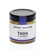 RILLETTES DE THON BLANC GERMON À L'INDIENNE  GROIX ET NATURE