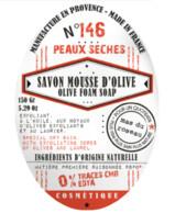 SAVON MOUSSE D OLIVE PEAUX SECHES